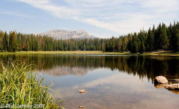 Alpine lake along UT-150