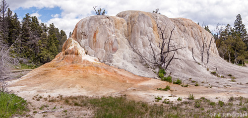 Orange Spring Mound, Mammoth Hot Springs, Yellowstone National Park