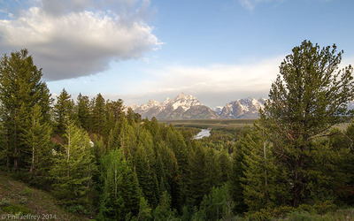 Snake River Overlook, Grand Teton National Park